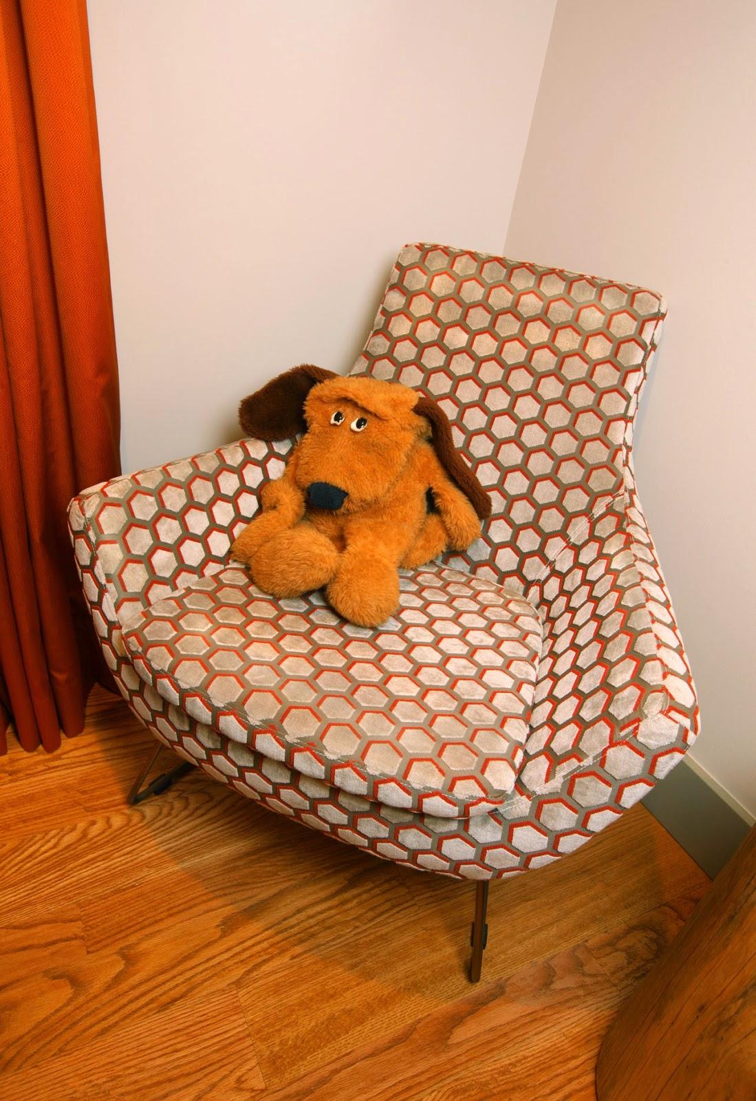 modern.chair.hexogonal.fabric