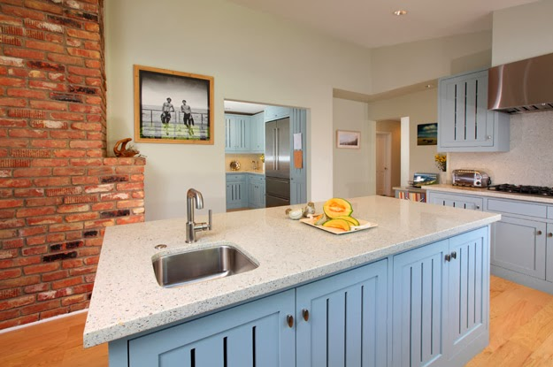 blue.country.kitchen.brick.remodel