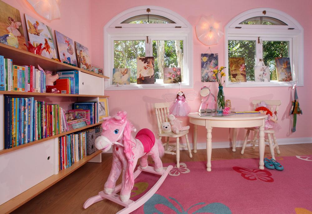 kids.bedroom.design.pink