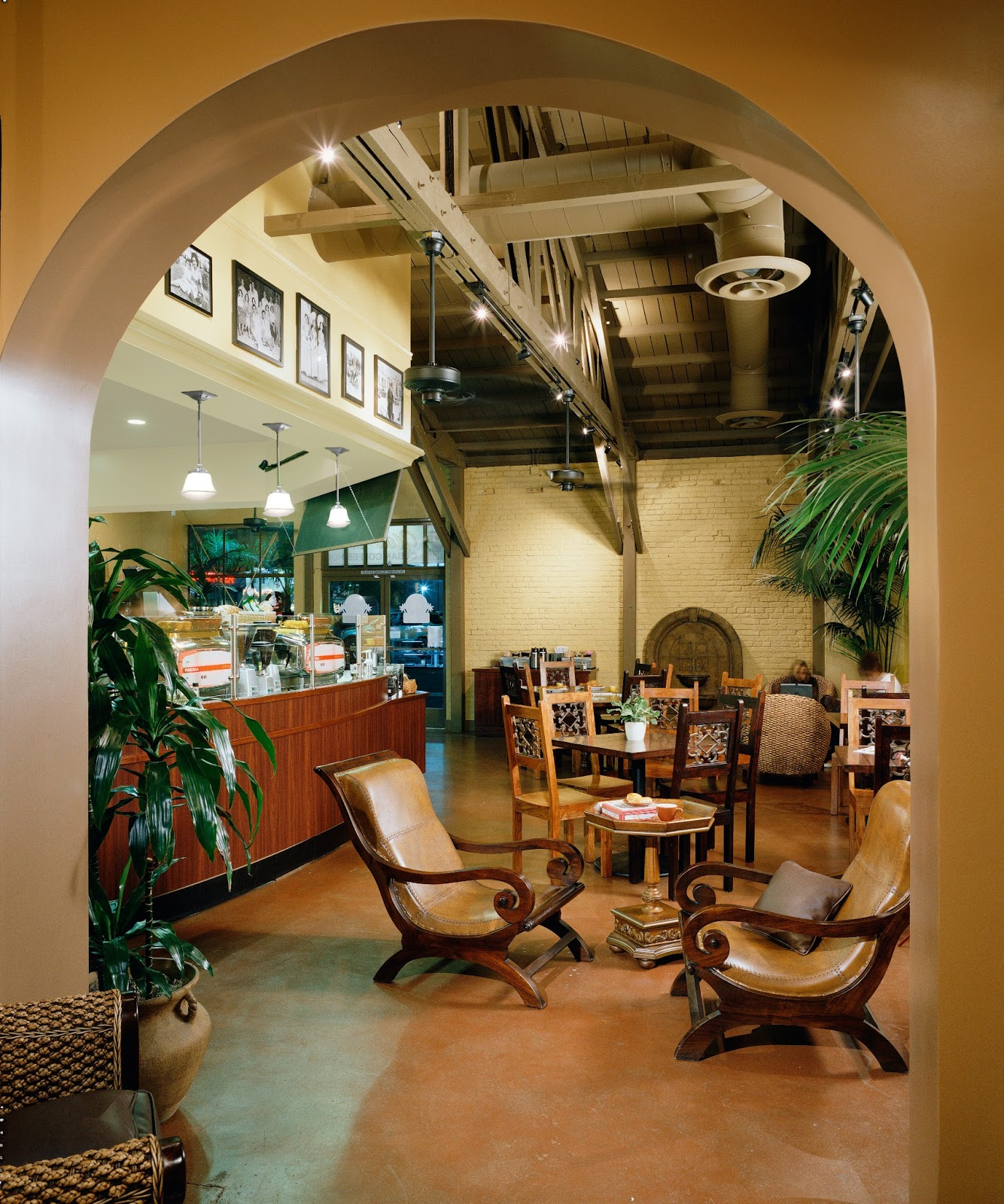 The lounge area in the rear allows patrons to relax and enjoy the infectious Cuban atmosphere while playing dominoes or listening to live music.