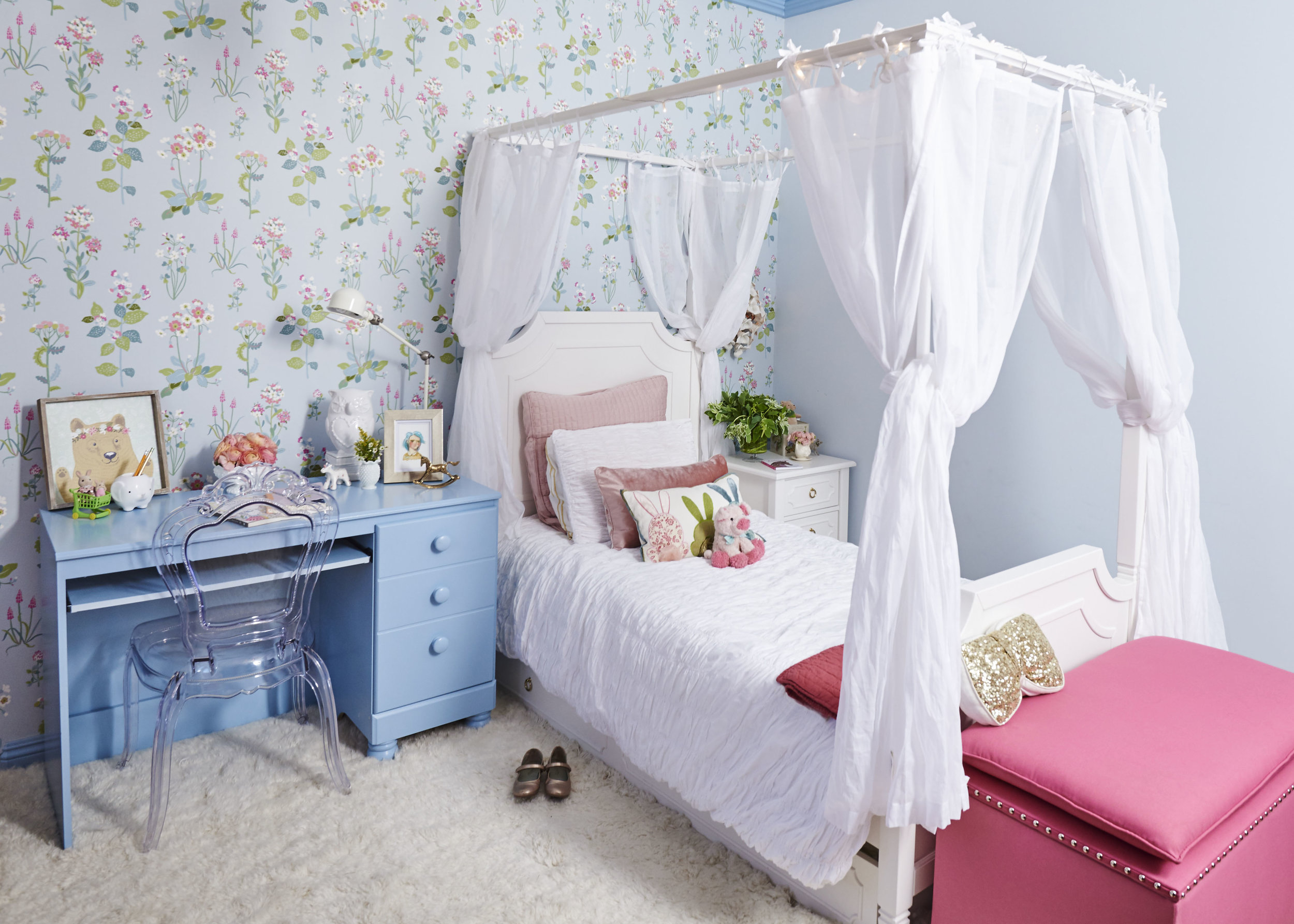 little girl\'s bedroom ideas — Sarah Barnard Design - Story