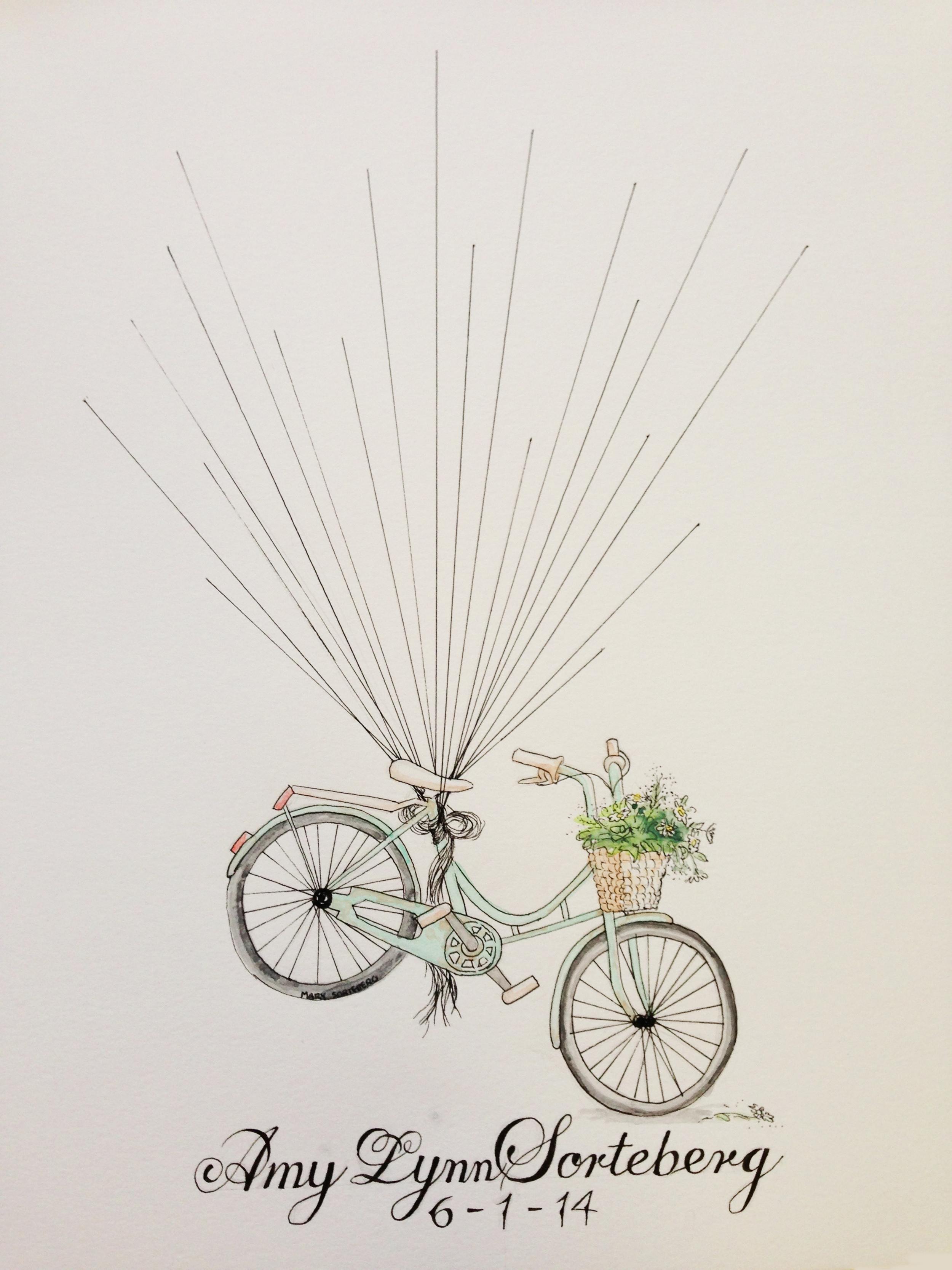ink & watercolor 2014