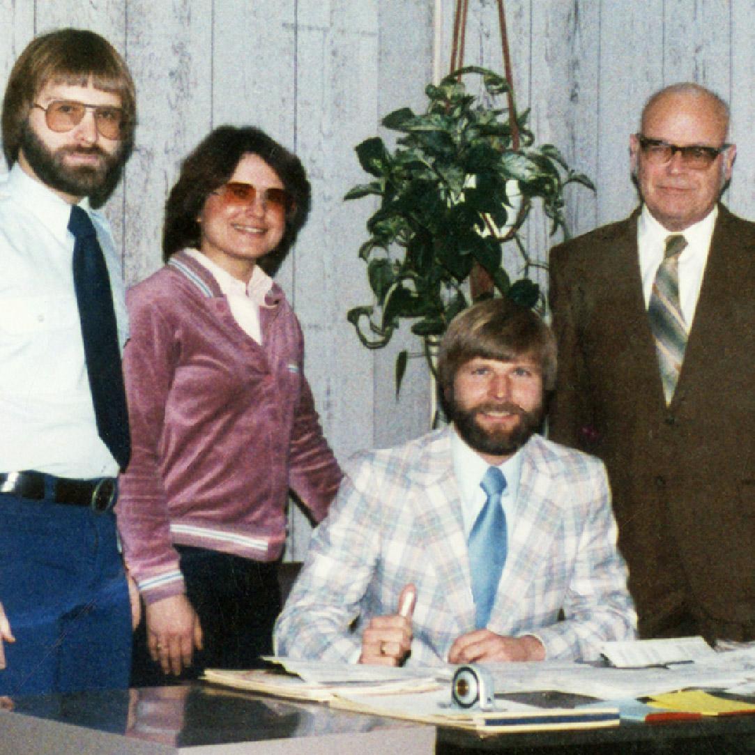 Bill Howard and Family, 1977