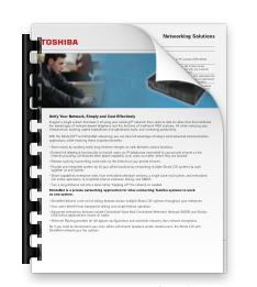 Network Data Sheet