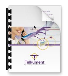 Talkument Data Sheet