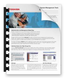 System Management Tools Data Sheet