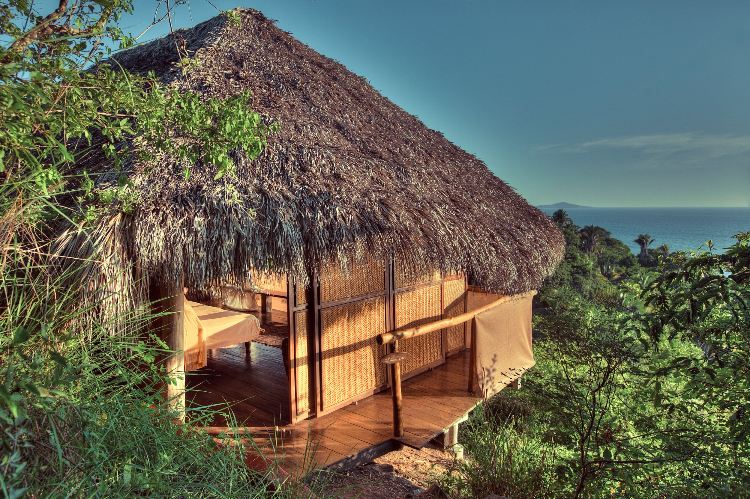 Some of the best views in all of Mexico - right from your cabana. All open air and private.