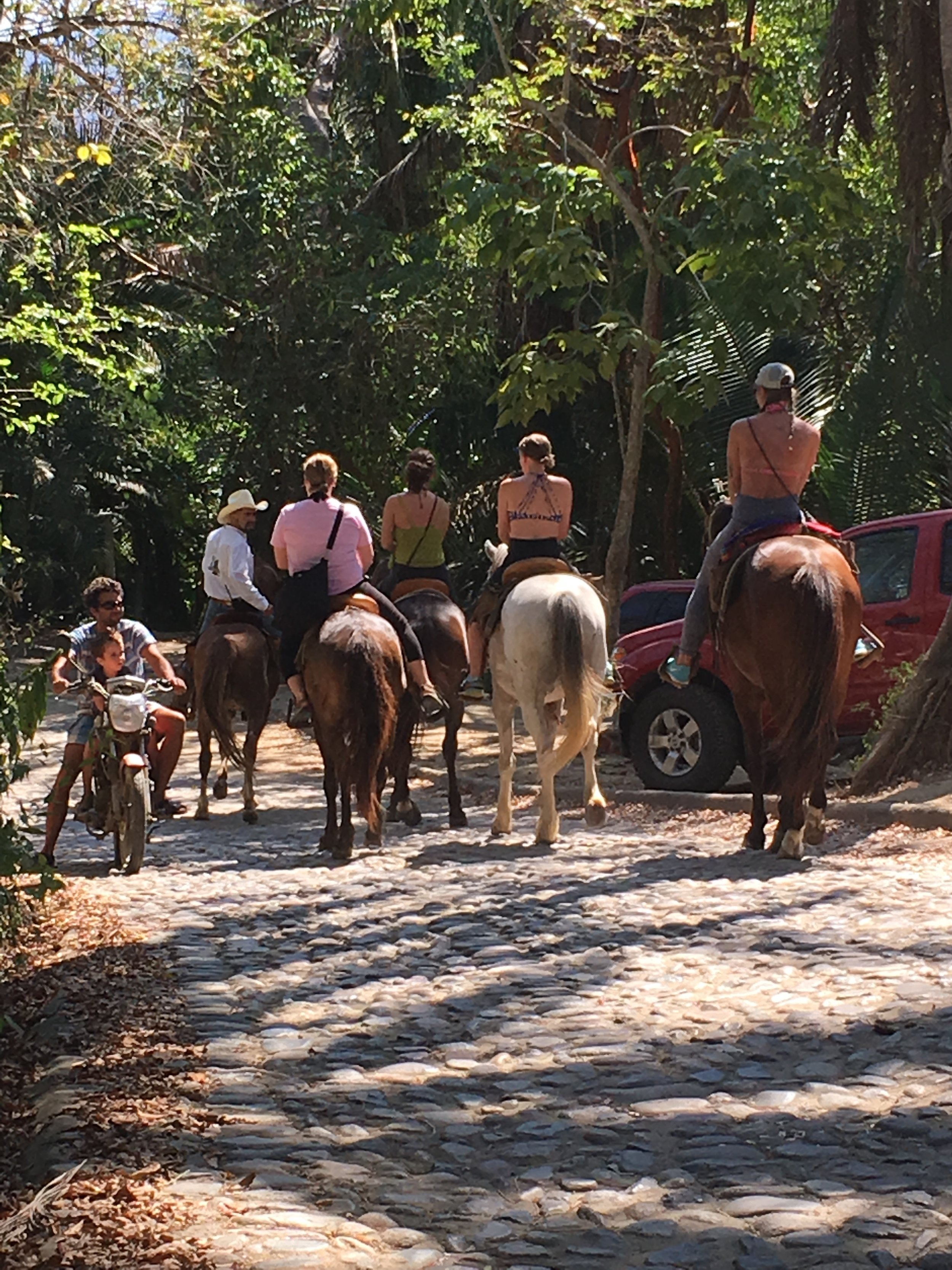 Horseback riding is one of the favorite activities.