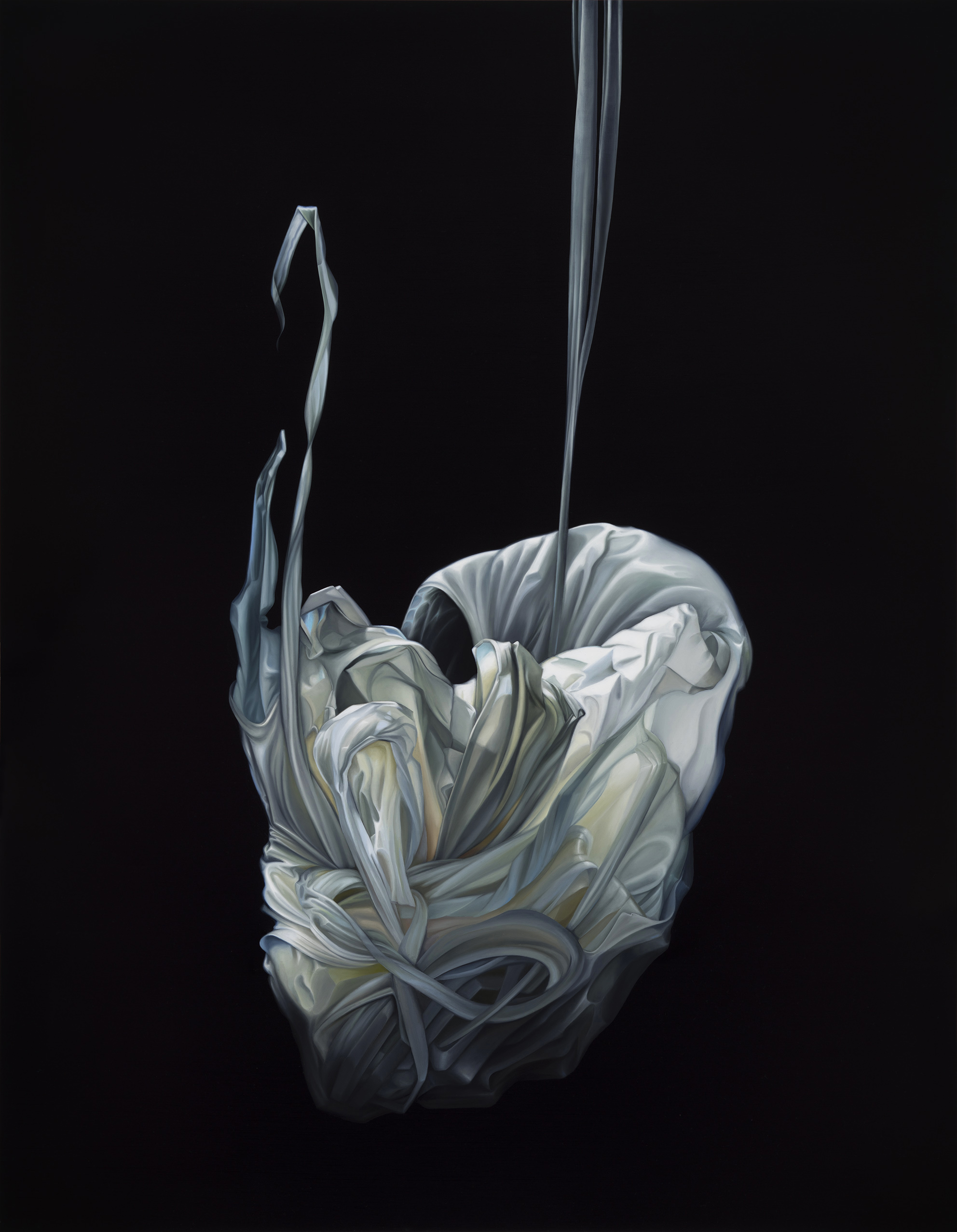 Copy of Untitled, 2015. Oil on board, 90 x 70 cm