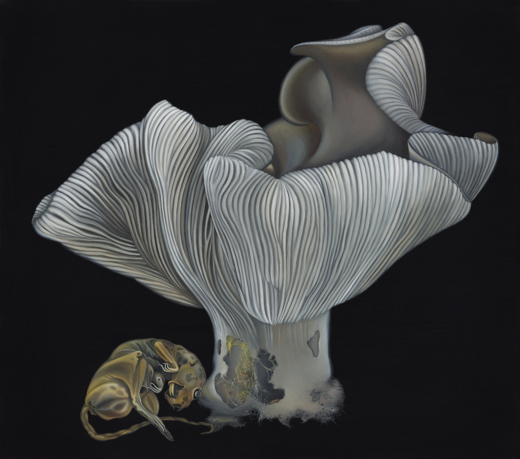 Copy of Untitled, 2013. Oil on board, 30 x 34 cm