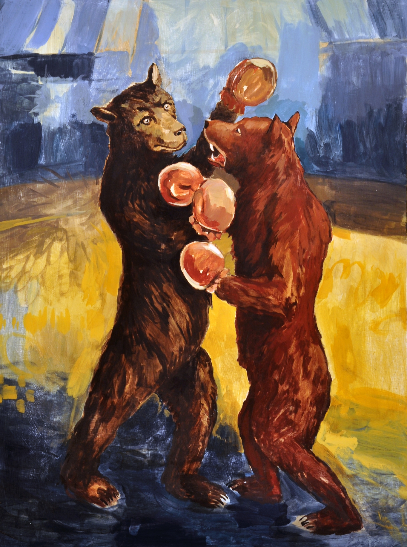 Boxing Bears