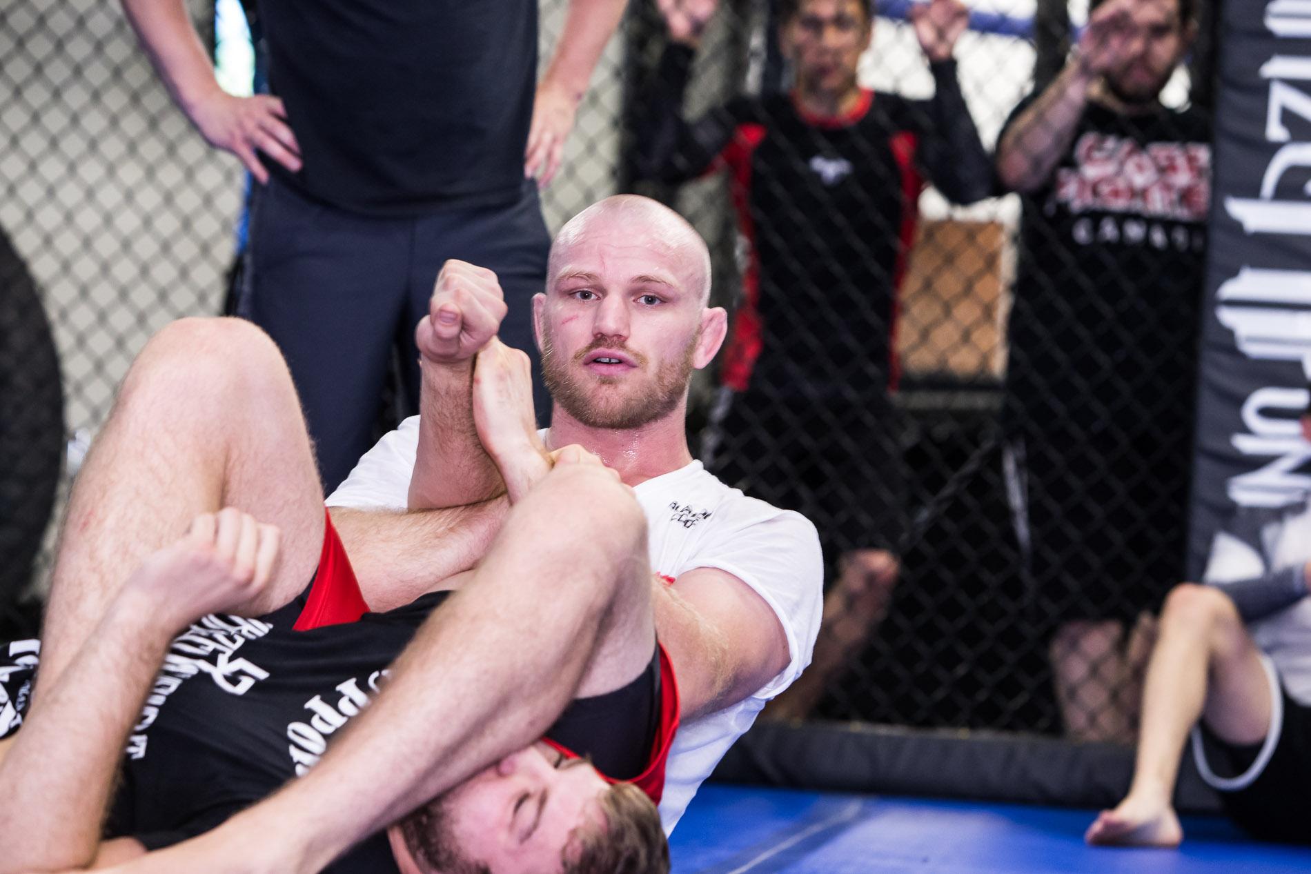 Martin Kampmann head instructor of Kampmann MMA program only offered at Kamikaze Punishment Foundation.