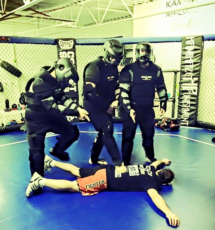 Self Defense community courses at Kamikaze Punishment Foundation.