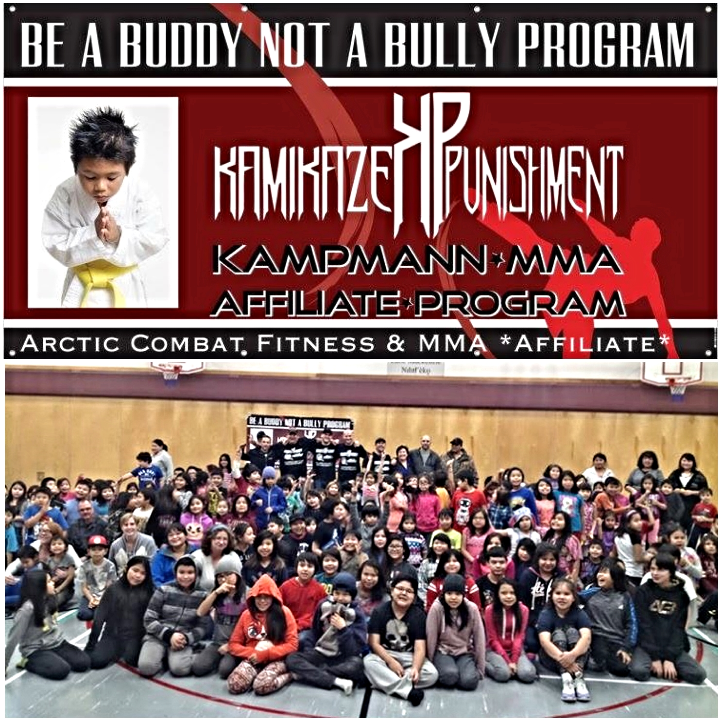 Be a Buddy not a Bully Program at  Elizabeth  Mackenzie Elementary (K-6) NWT.