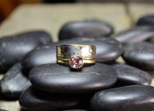 Lilac Spinel Engagement Ring and Band.png