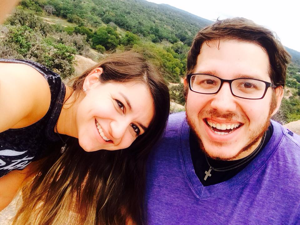 David Cummings and Cayla Carhart, Enchanted Rock, Fredericksburg, Texas