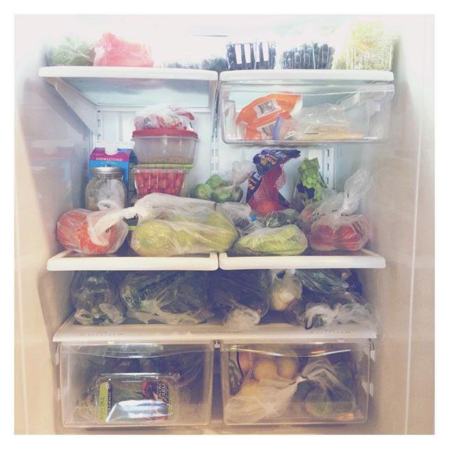 Love knowing that everything in our refrigerator is nourishing, sustainable, and cruelty-free 🌱 #vegan #veganathletes #veganrunners #plantbased #plantbasedathletes