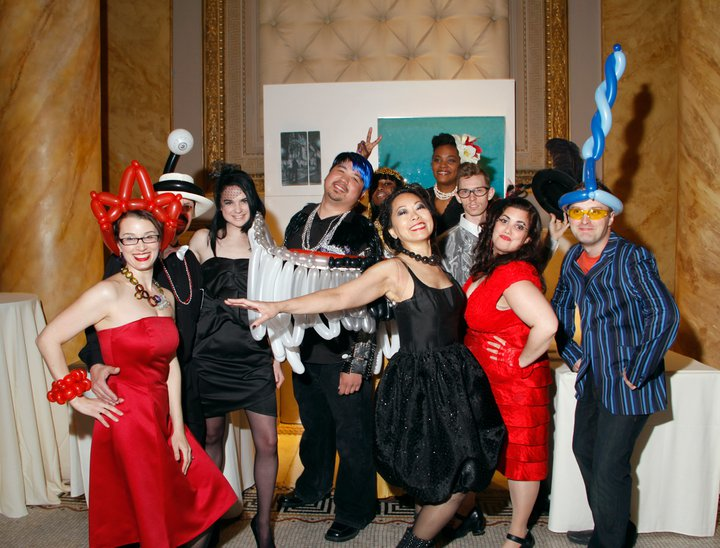 "Kristin and the staff of UrbanGlass at the 2010 Gala ""Fete de Verre"" reimagined and orchestrated by her that raised $330,000 for the general operating budget."