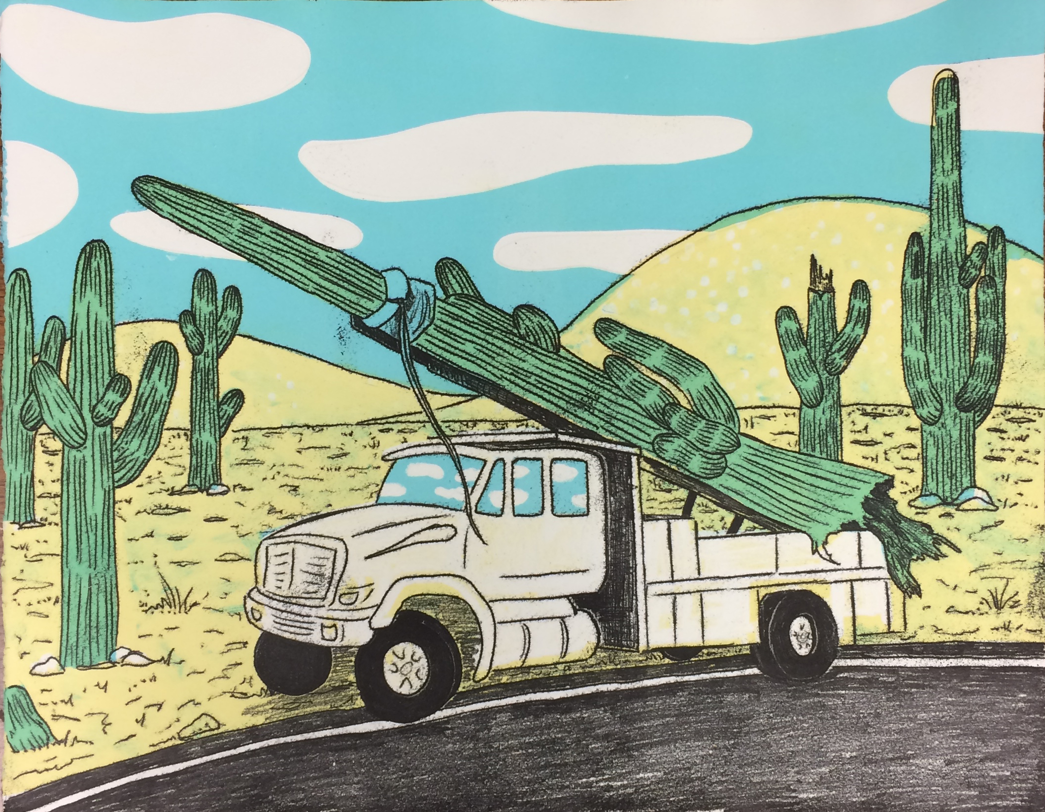 Poaching the Saguaro