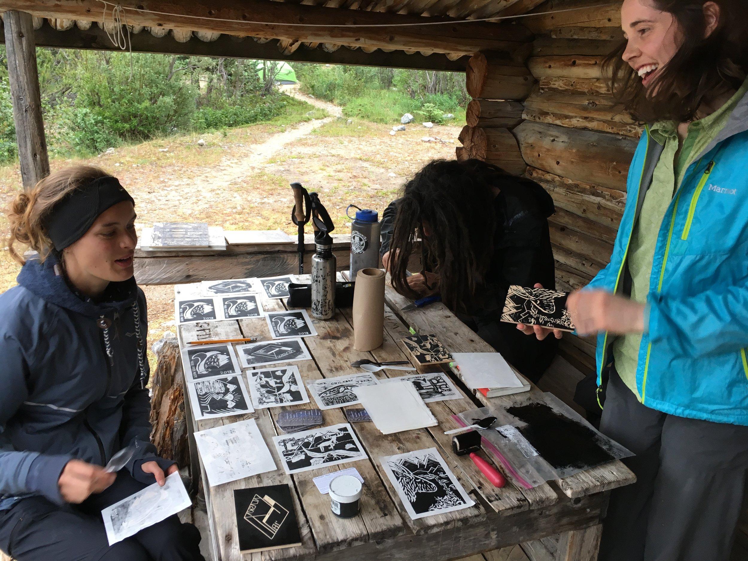 Artist workshop - Lindeman City Camp