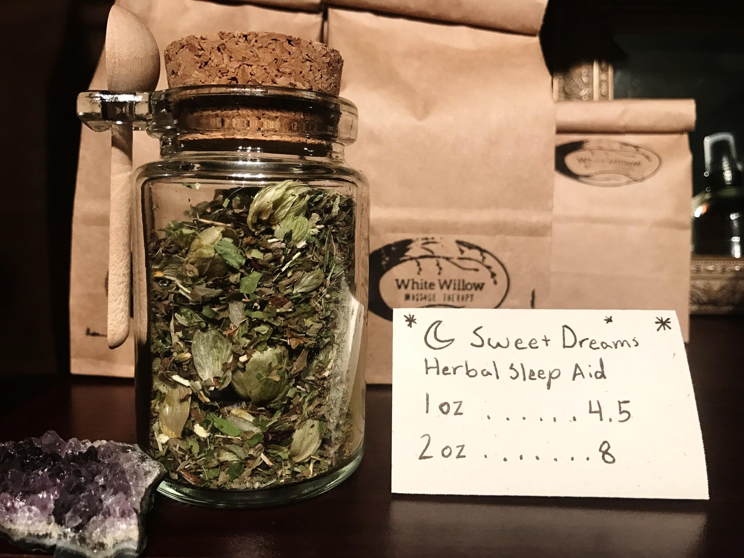 organic herbal tea - nighttime tea