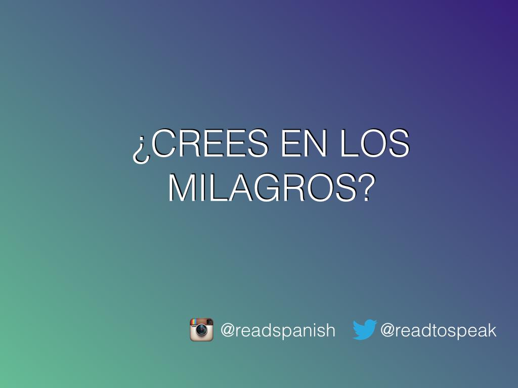 Read to Speak Spanish