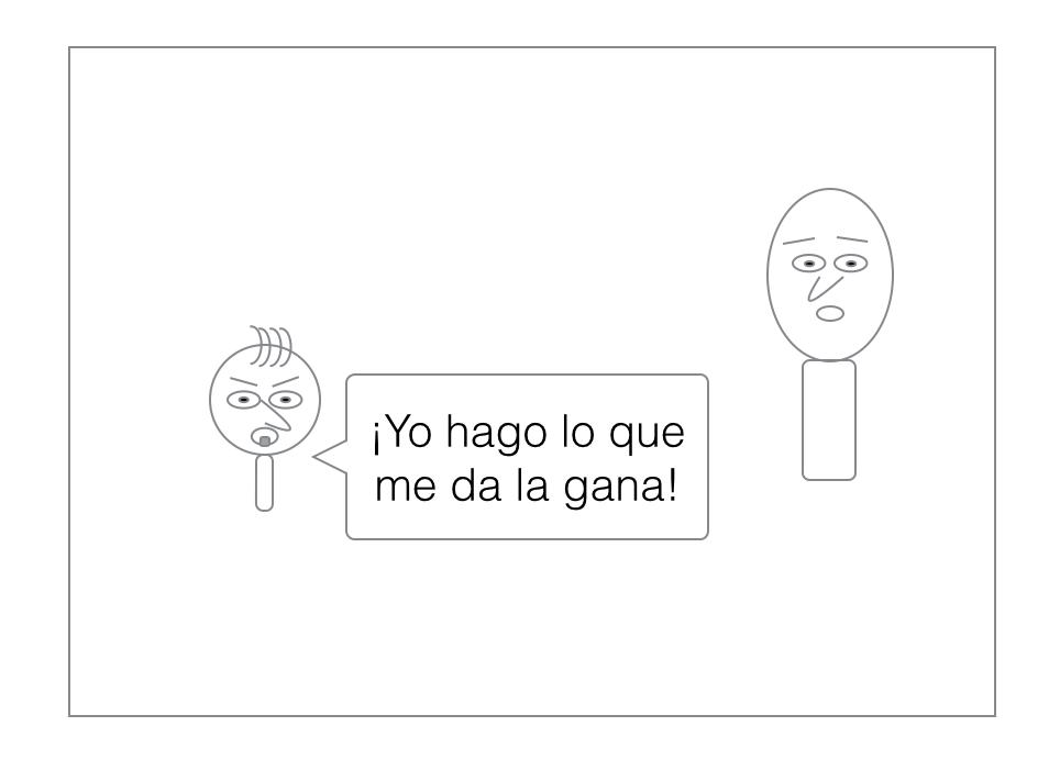 Read Spanish Comics — ¡Yo hago lo que me da la gana!