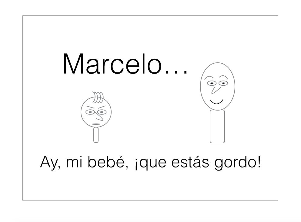 Read to Speak Spanish — Marcelo el bebé maleducado 1