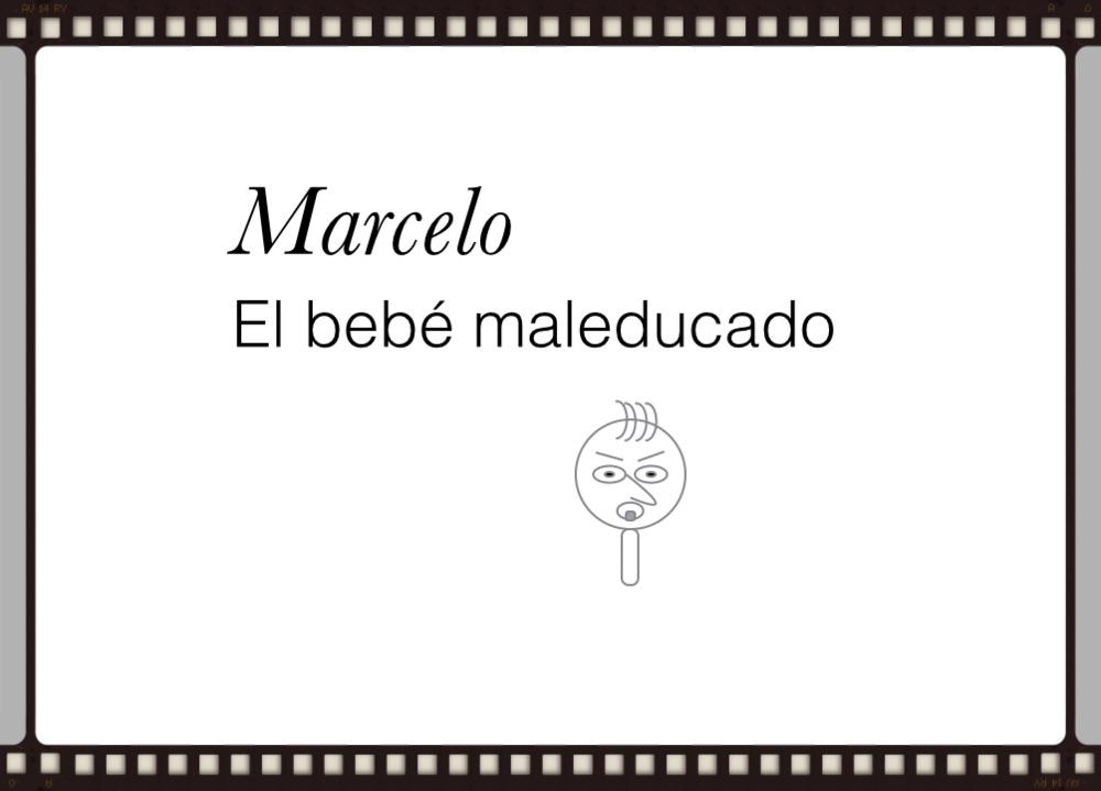marcelo the rude baby