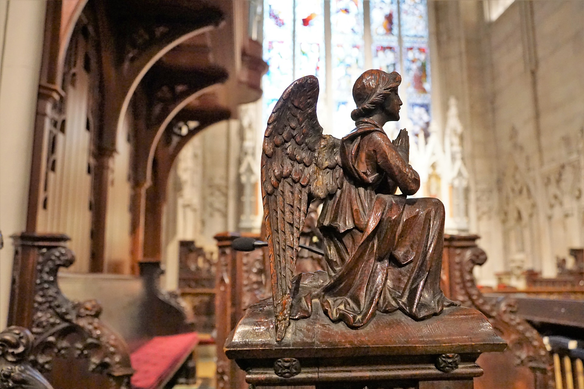 Una representación del ángel Gabriel.