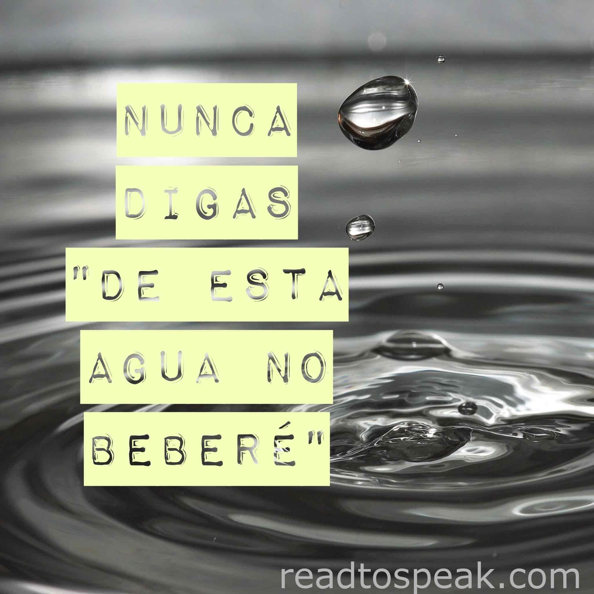 Read to Speak Spanish Phrases