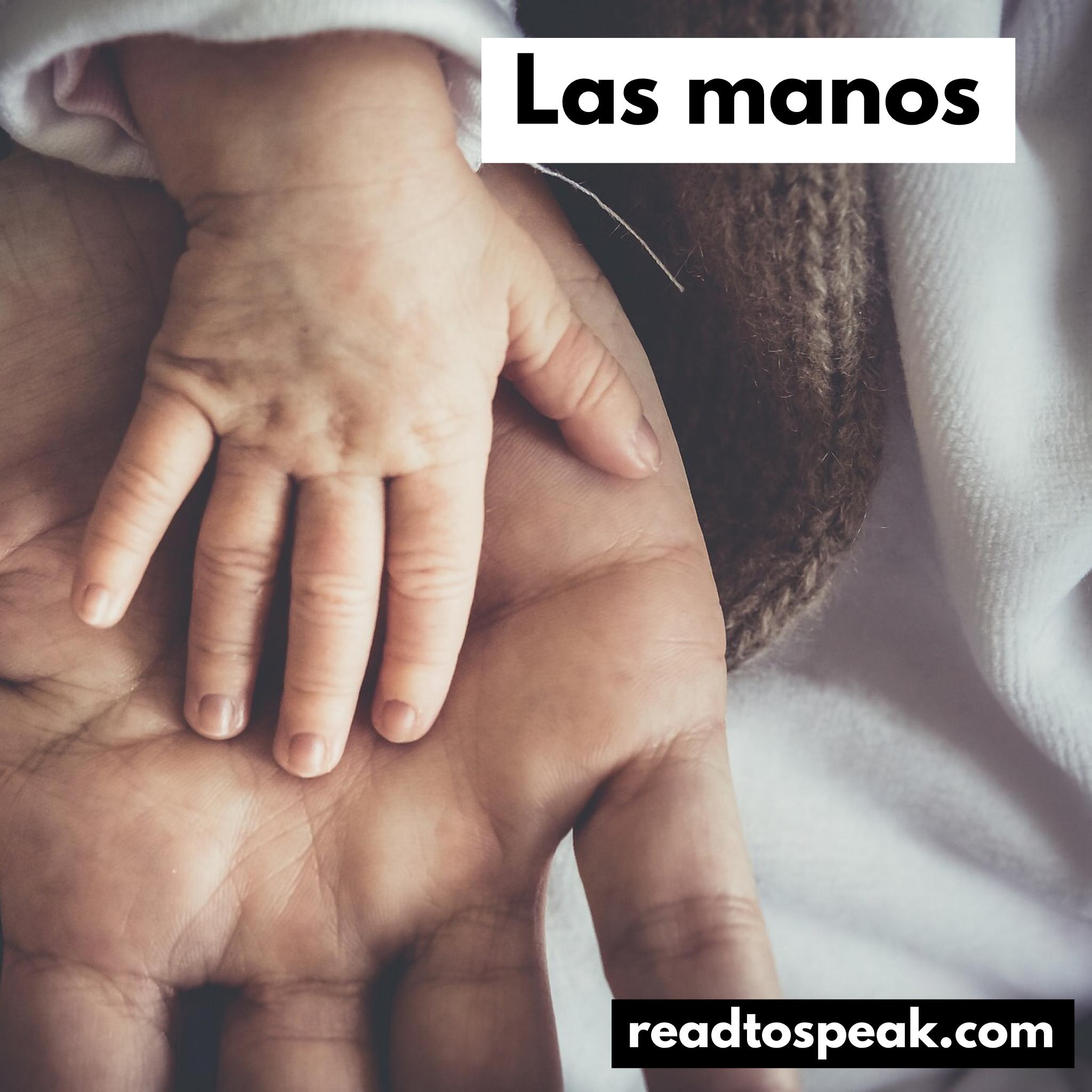 Read to Speak Spanish - las manos.PNG