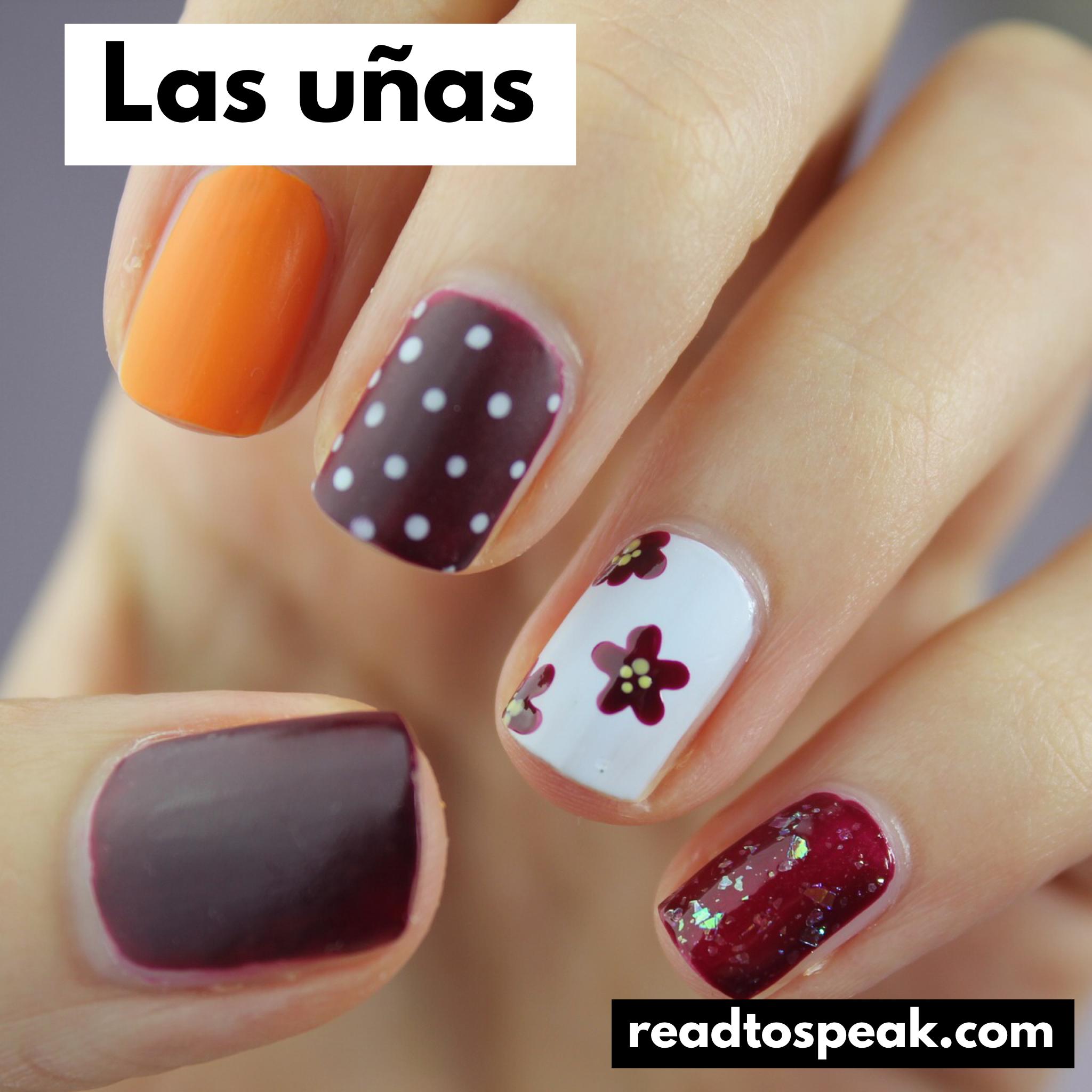 Read to Speak Spanish - las uñas.PNG