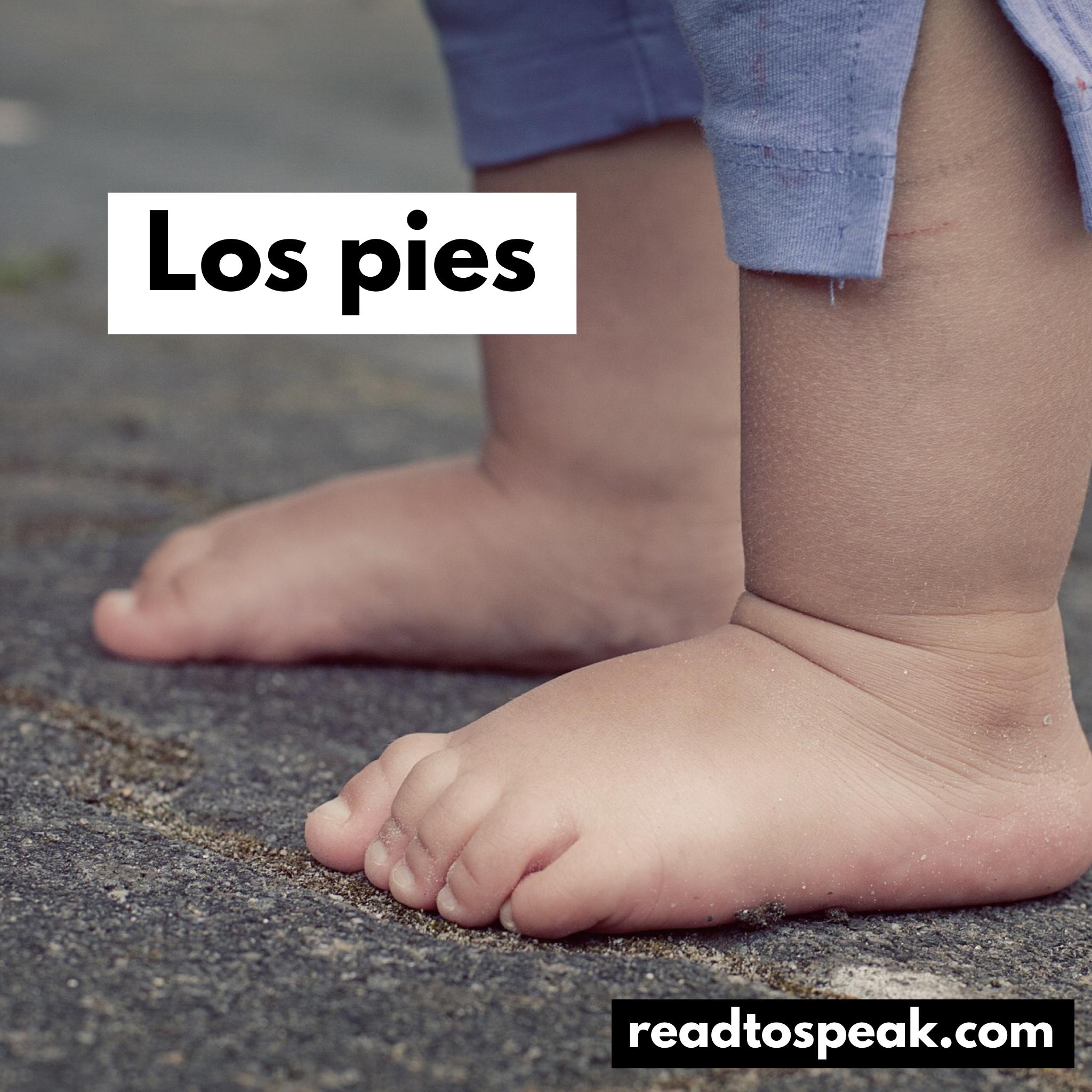 Read to Speak Spanish - los pies.PNG