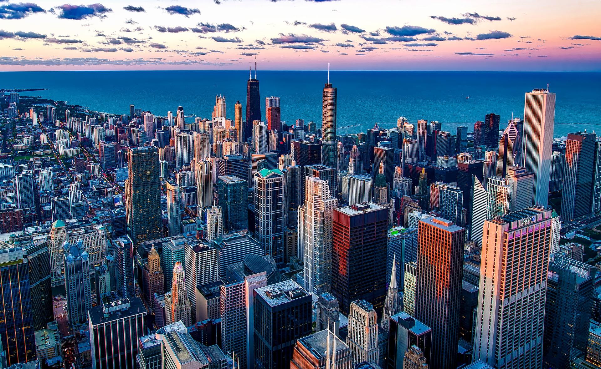 Una foto de Chicago... ¿Quién es de Chicago? ( Pista : Es una persona famosa...)