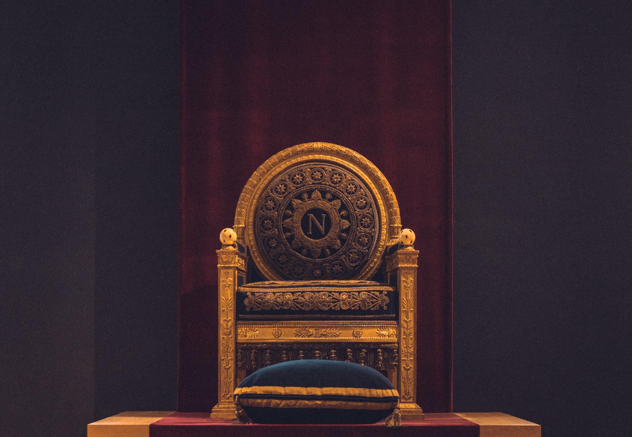 ¿Te sentarías en un trono si fueras el rey o la reina de España?
