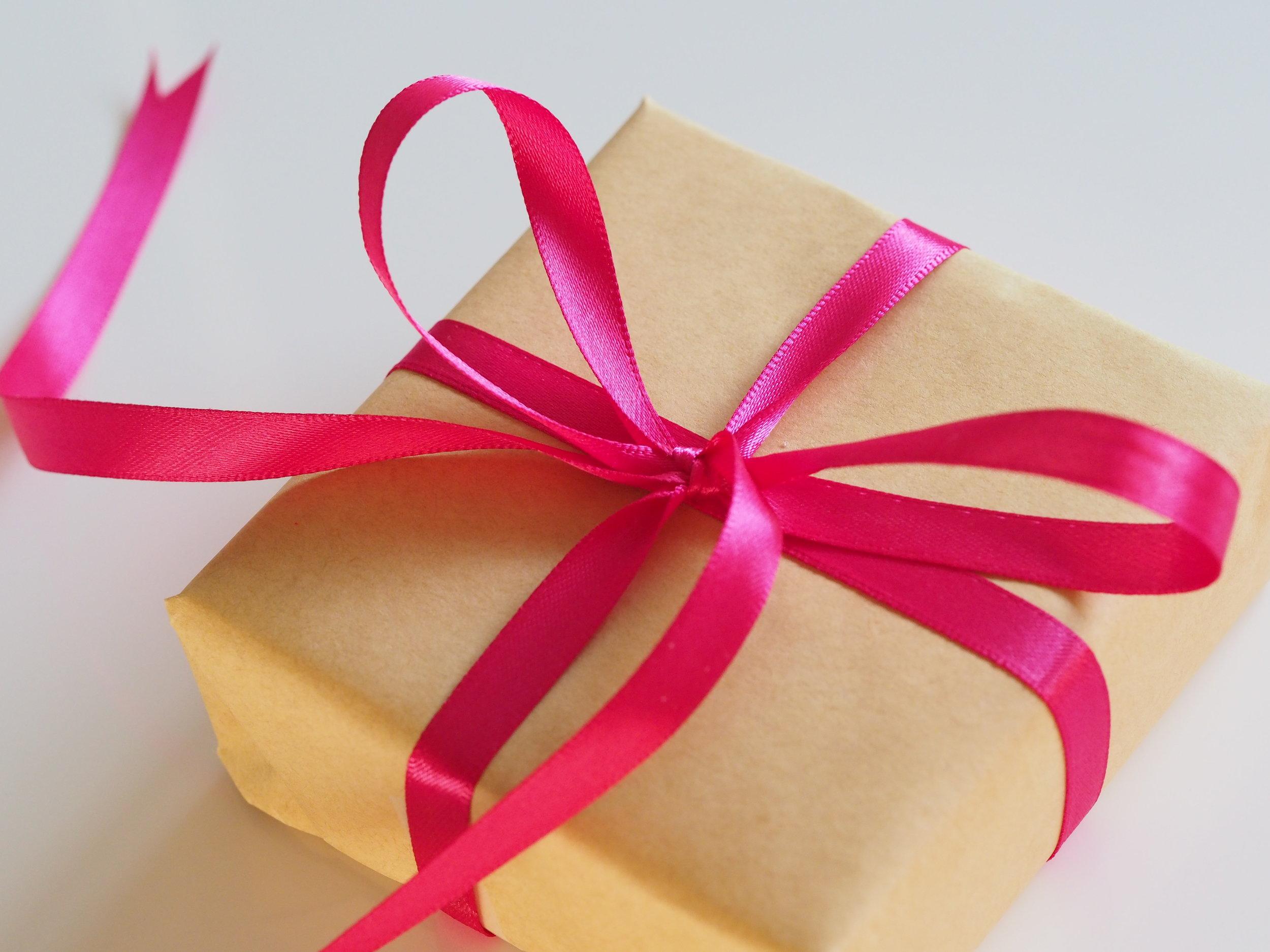 ¿Prefieres dar o recibir regalos?