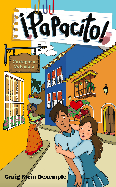 Papacito is a compelling, comprehensible novel for beginners.