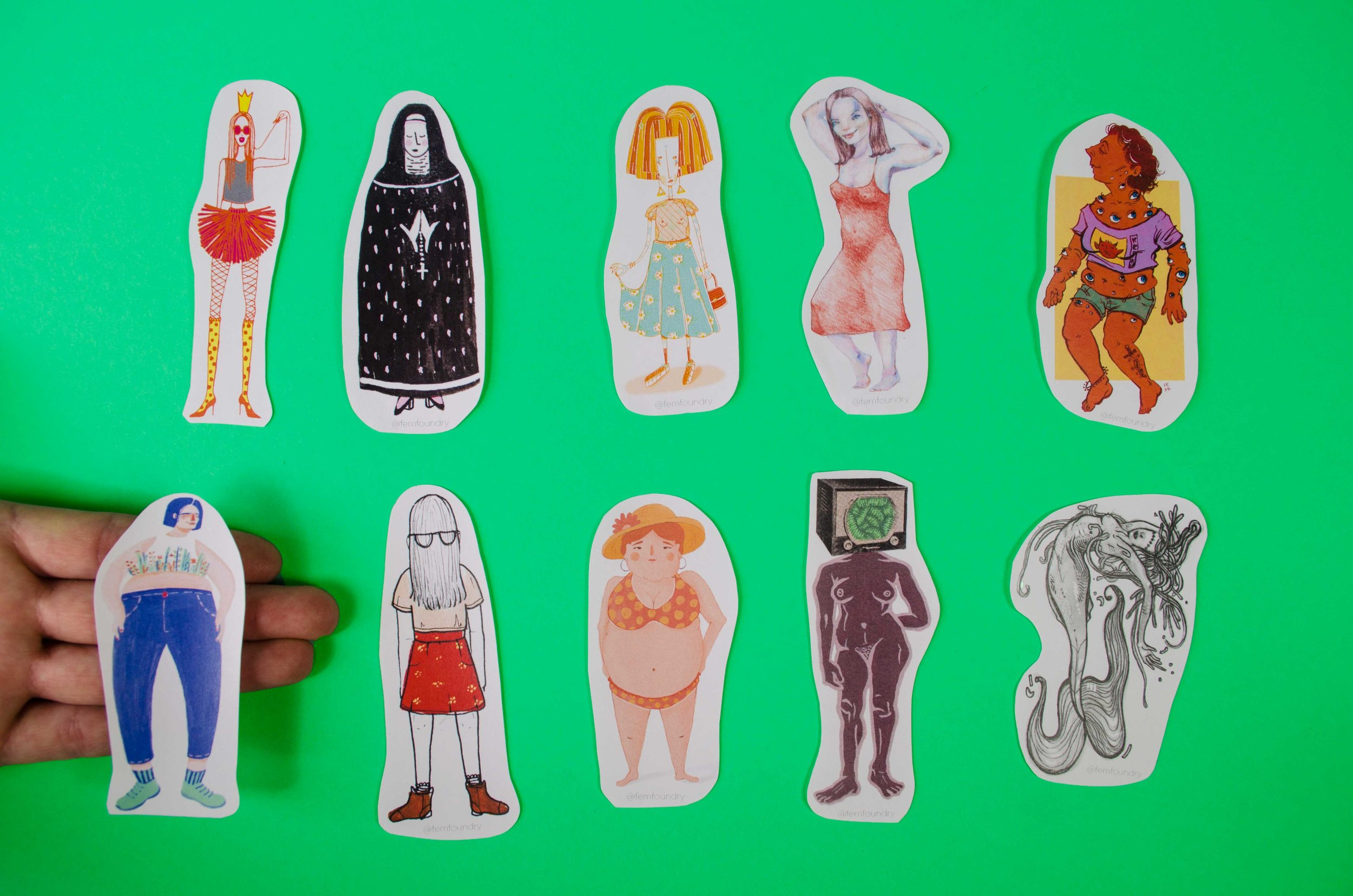Lady Stickers by FF Ladies