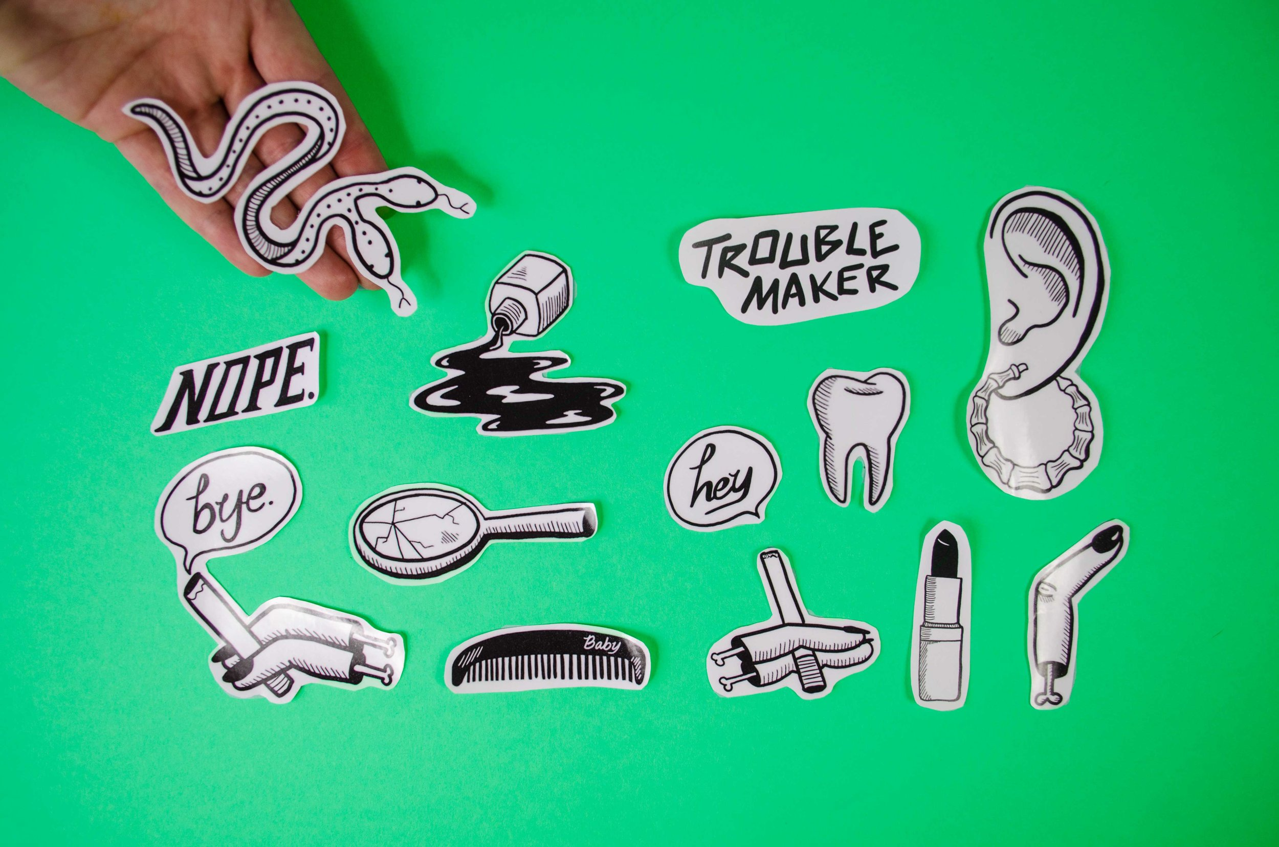 Stickers by Maeve Norton