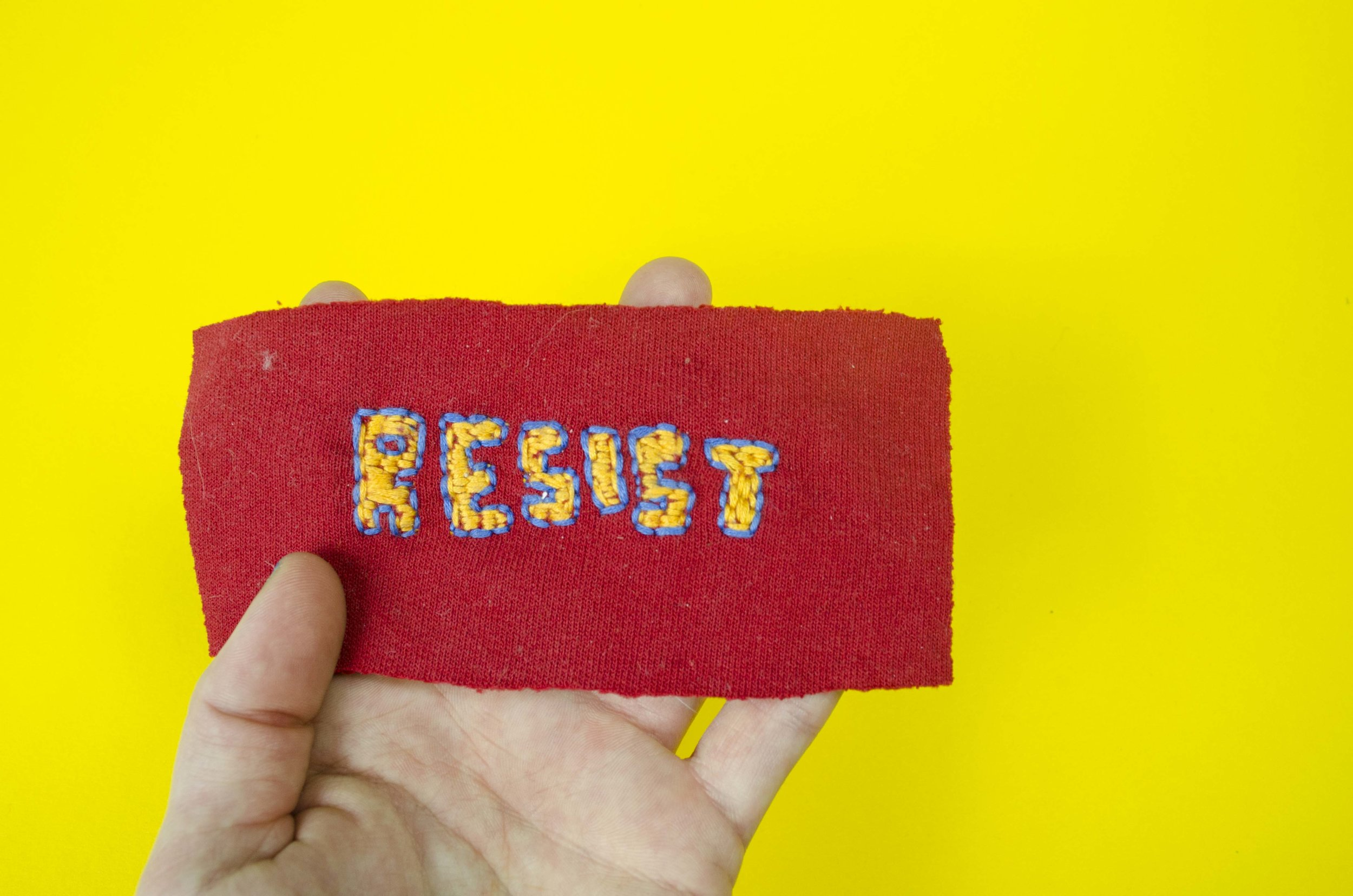 Resist Patch by Emily Smucker