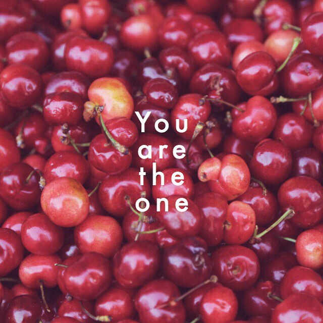 You are the only one... that can change your life.  #beawwwesome #awwwprojects #awwwquotes #newyork #cherries #red #life #change