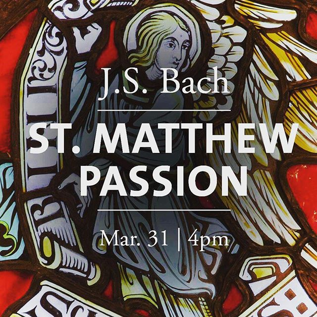 BREAKING NEWS: I will be making my #debut as a #countertenor in Bach's masterwork the St. Matthew's Passion with @dukechapel music this Sunday!  Purchase tickets at tickets.duke.edu. FREE for Duke students, $5 for non-Duke students, $15 for Duke Employees, and $20 for General Admission.  Parking is available for $5 in the Bryan Center Garage at 125 Science Drive. ADA parking is available in surface lot next to the garage.  Learn more about this year's Chapel Music season at chapel.duke.edu/music.
