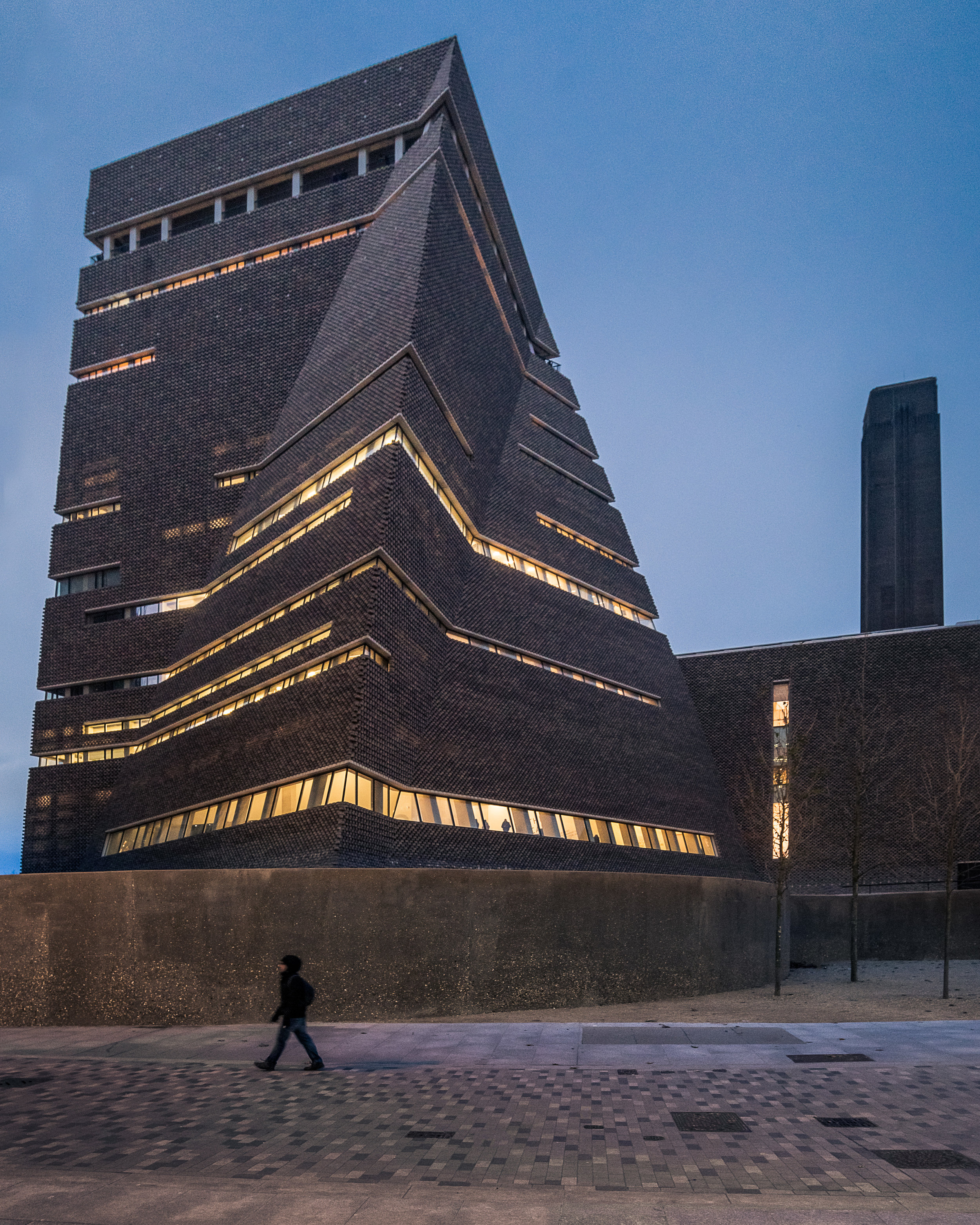 Tate Modern, Switch House twilight - Architectural Photographer London
