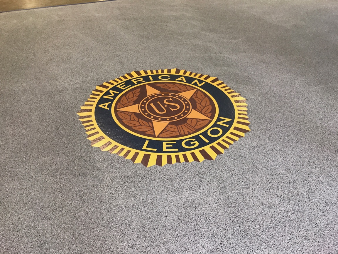 American Legion Perf Print on Flake epoxy Installed 2.jpg