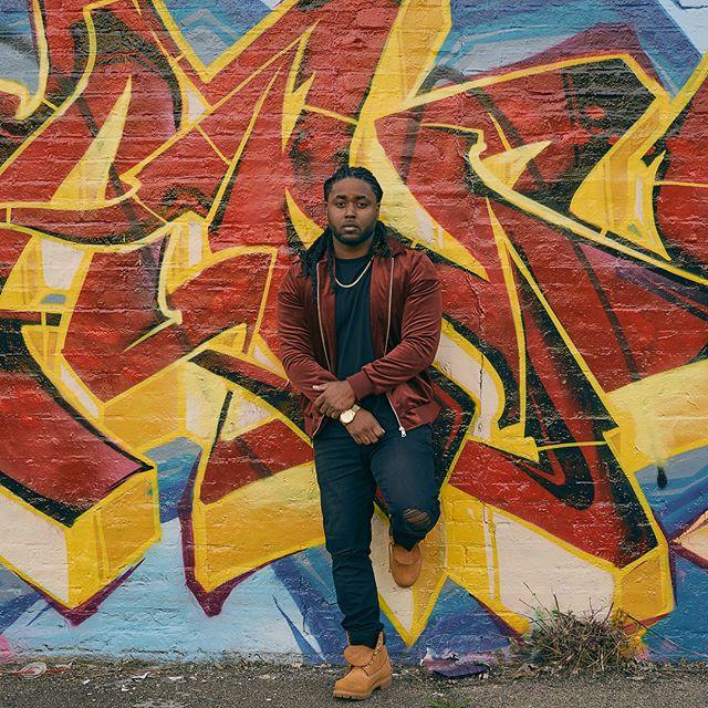 """Art of the City"" featuring @rnbprince_tiggy  #photography #photoshoot #graffiti #visionaryart #rnbartist #indyfashion #indyartist"