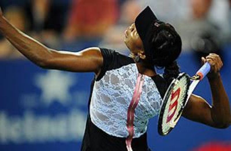 Venus Williams being awesome :)