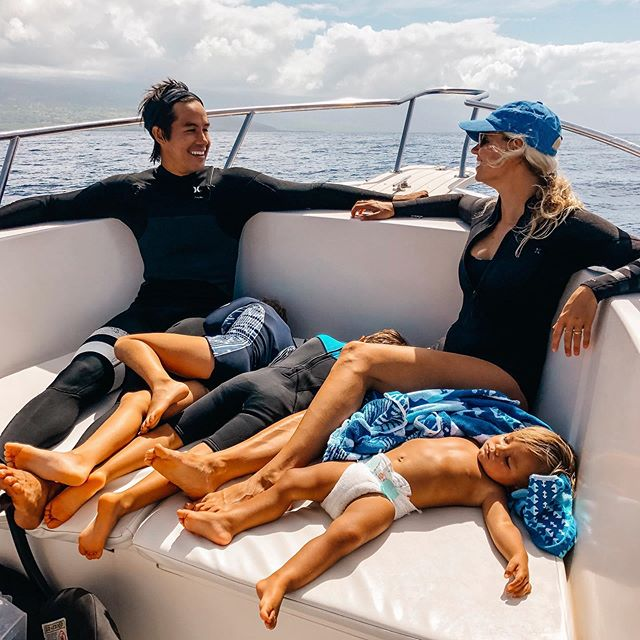 The kids were quite jealous of our dolphin adventure last month. We tried to make it up to them.. Tried.. 😅😍😘🥰😴😴😴 @thebucketlistfamily
