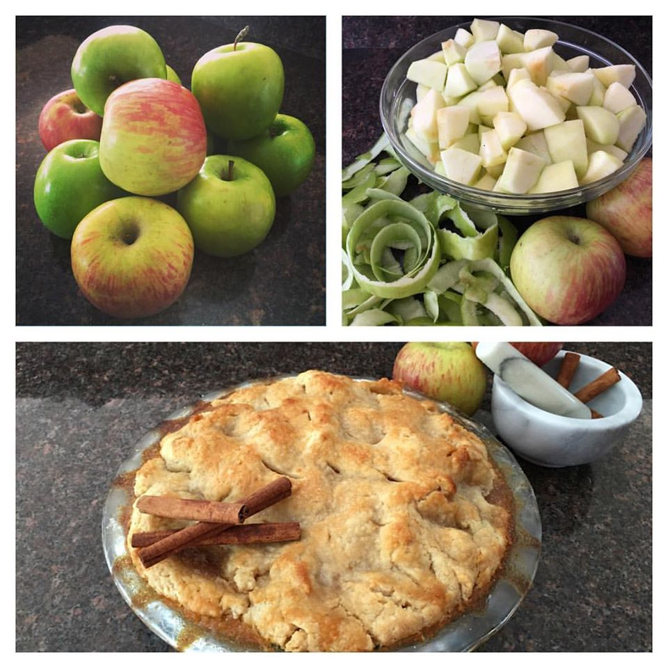 I make this apple pie every year, and this is the first time I've given out my recipe. Only for my goddesses. ;-)