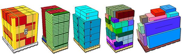 Pallet configurations
